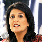 headshot of Nikki Haley.