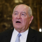 headshot of Sonny Perdue.